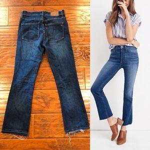 •MADEWELL• Cali Demi-Boot Jeans